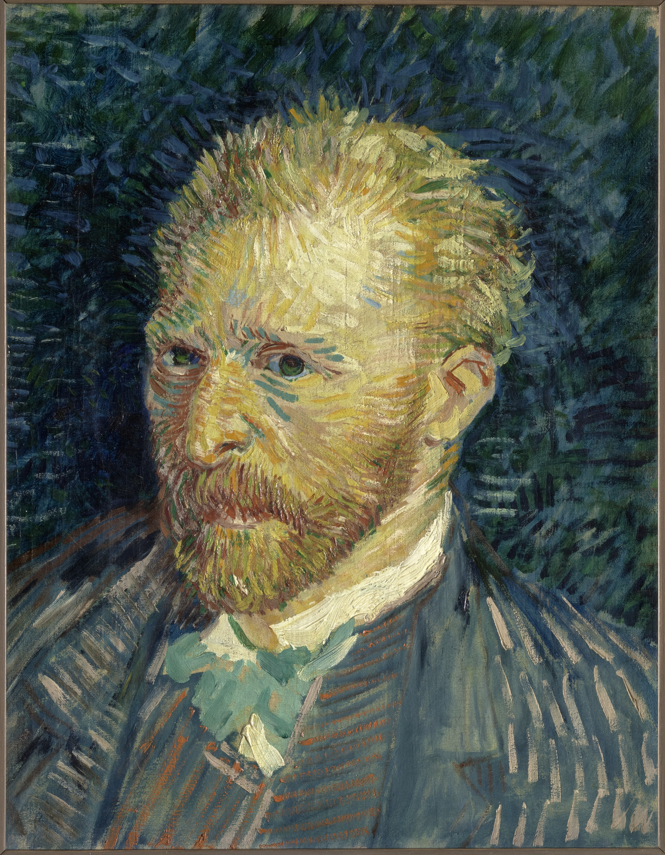 Self Potrait of Vincent van Gogh