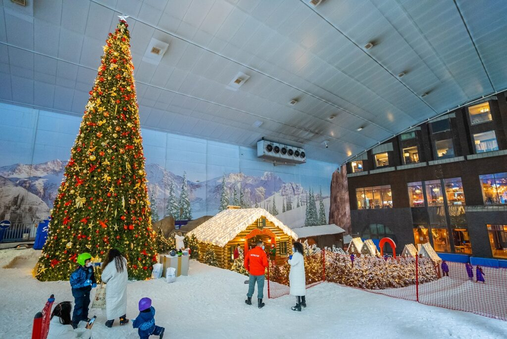 Winter Wonderland at Ski Dubai